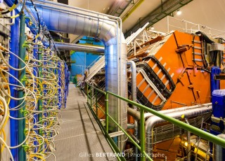 PHOTO INDUSTRIE EXPERIENCE ALICE AU CERN
