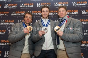 LE GRAND BORNAND ACCUEILLE SES MEDAILLES OLYMPIQUES
