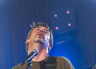 Photographies du concert du groupe de rock française JAMDITO sur la scène du Repaire des ours. A Le Fayet, le 25 avril 2014, photo Gilles BERTRAND