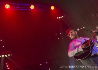 Concert du groupe de rock Français KLINT sur la scène du Repaire des ours. A Le Fayet, le 25 avril 2014, photo Gilles BERTRAND