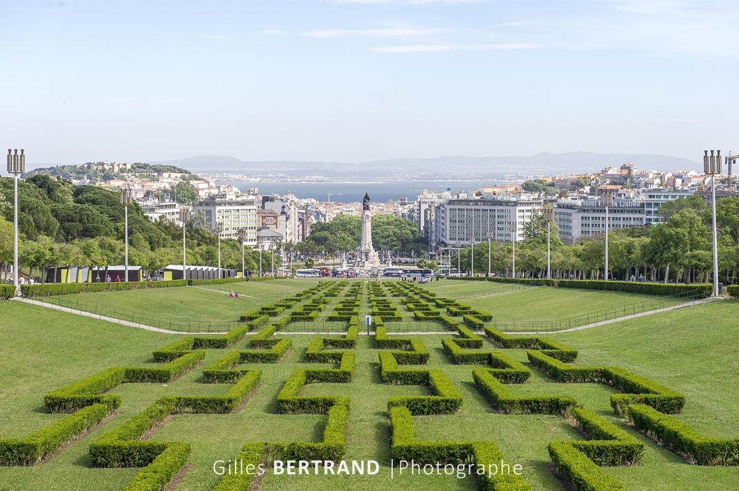 LISBONNE - Le parc edouard 7