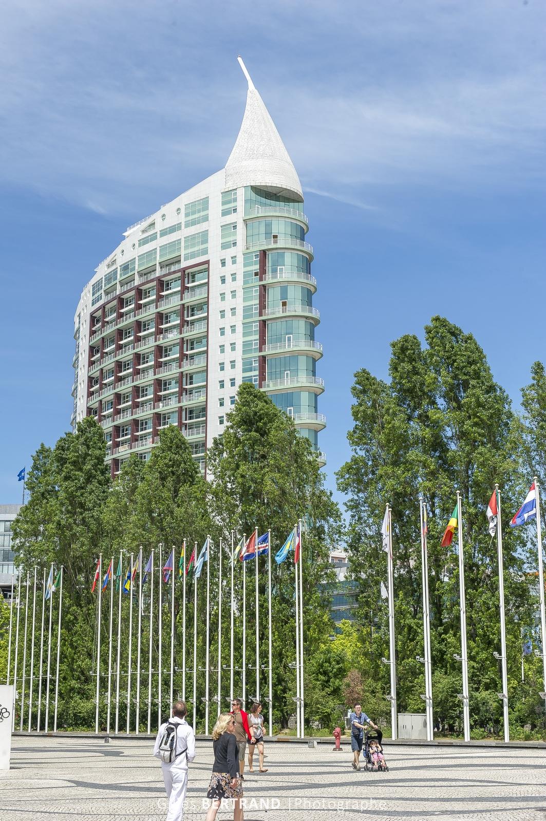 LISBONNE - Le quartier des Nations construit pour l'exposition universelle de 1998