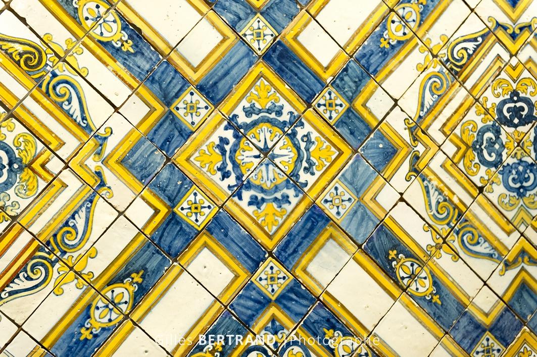 LISBONNE - Le musee des AZULEJOS