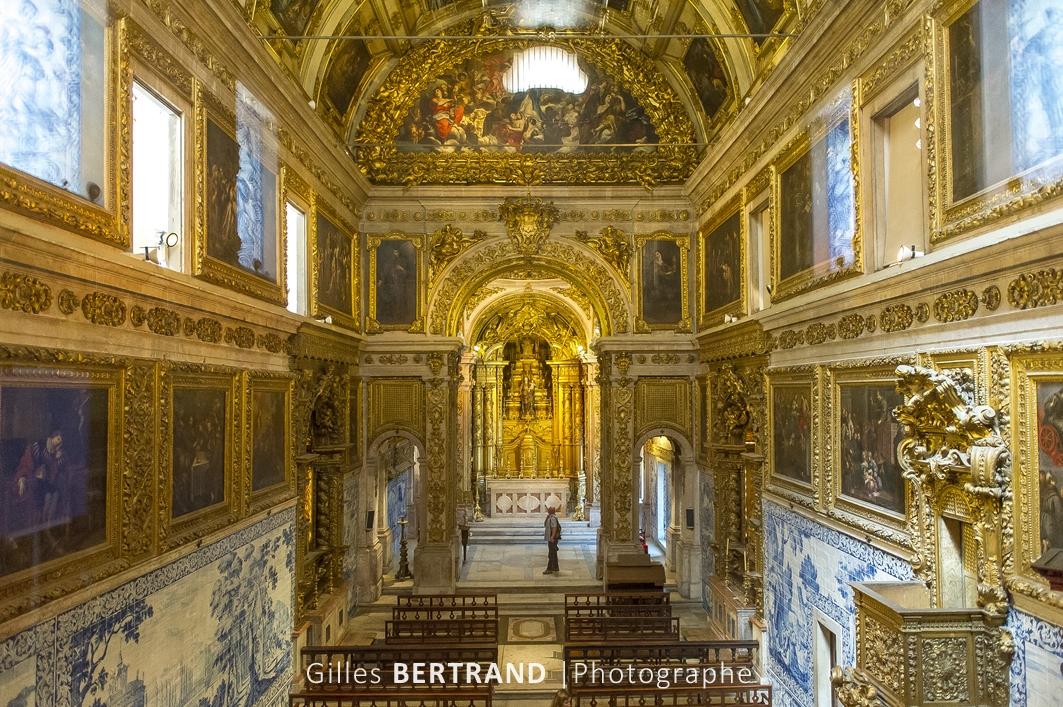 LISBONNE - Chapelle du musee des AZULEJOS
