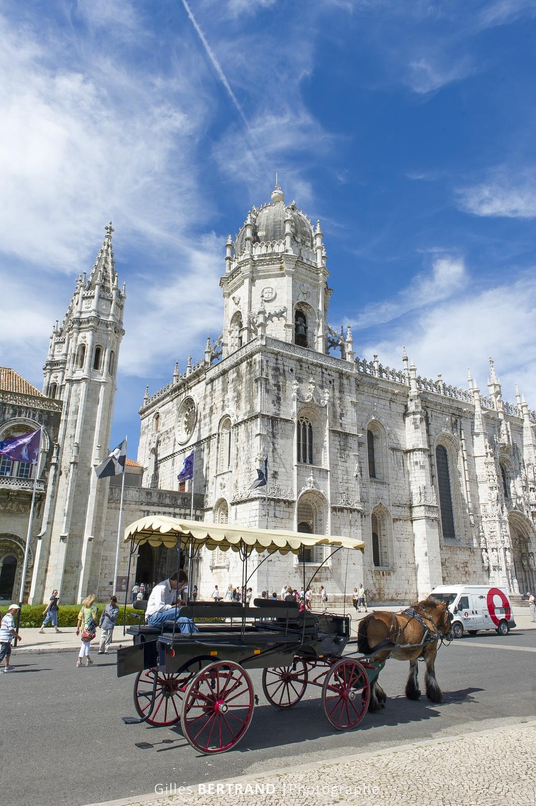 LISBONNE - Le Monastere des Hieronymites en portugais : Mosteiro dos Jeronimos