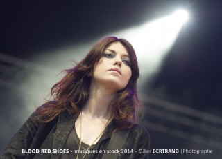 PHOTOS BLOOD RED SHOES MUSIQUES EN STOCK 2014