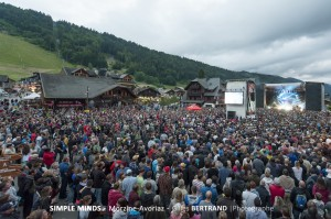 PUBLIC CONCERT SIMPLE MINDS MORZINE