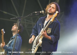 THE FAMILY RAIN MUSIQUES EN STOCK 2014