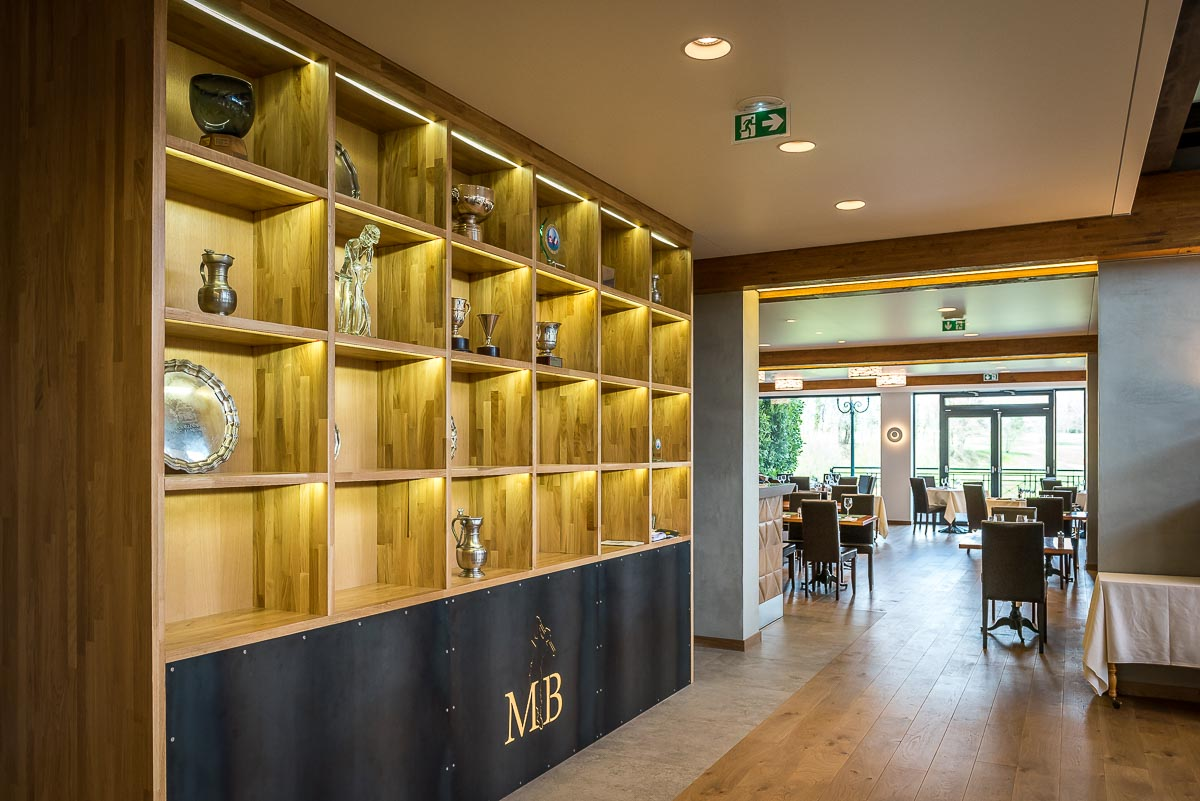 BYZANCE DESIGN - AMENAGEMENT CLUB HOUSE GOLF DE MAISON BLANCHE