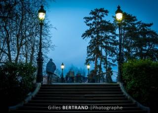 Les fantomes du pont des amours - A Annecy le 13 avril 2013, photo : Gilles BERTRAND