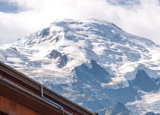 Le Mont-Blanc - A CHAMONIX - le 15 aout 2012 - photo : Gilles Bertrand/CIT'images