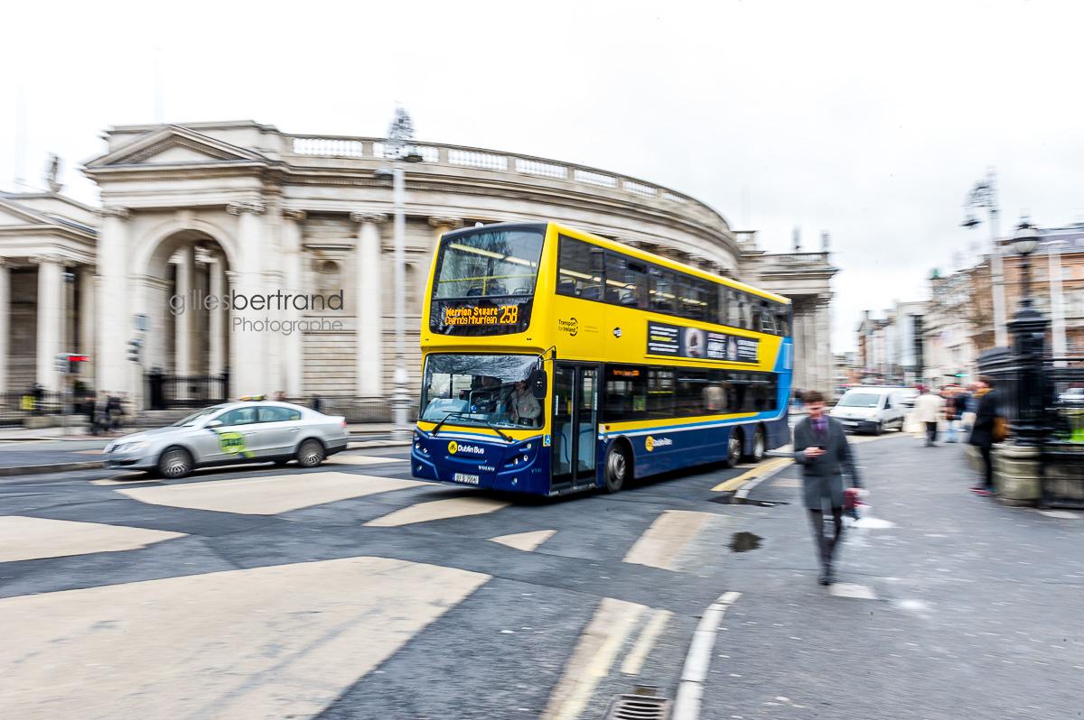 BUS DEUX ETAGES DUBLIN