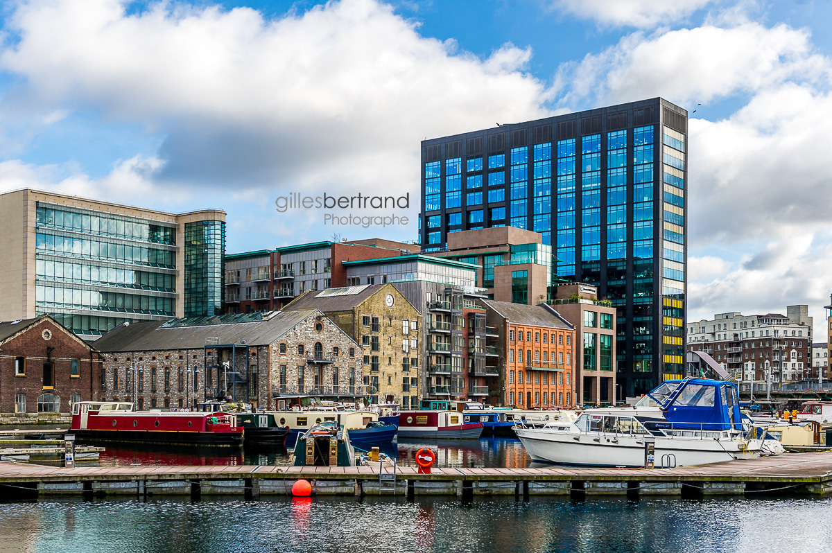 IMMEUBLE GOOGLE QUARTIER DOCKSLANDS DUBLIN