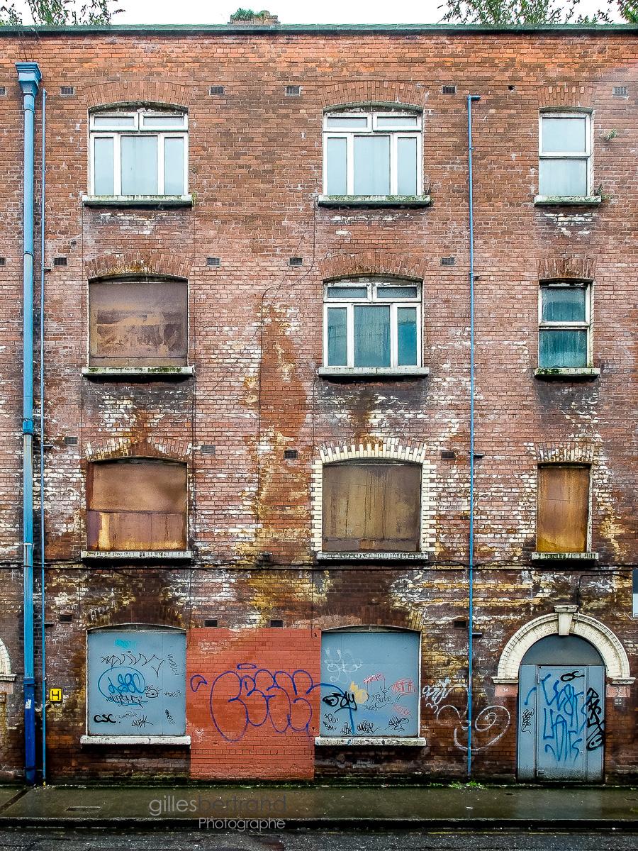 MAISON ABANDONNEE BRIQUE DUBLIN