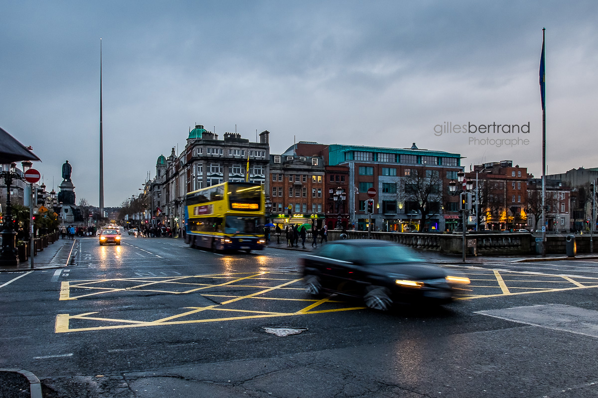 O CONNELL STREET DUBLIN DE NUIT