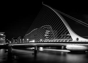 THE SAMUEL BECKETT BRIDGE DUBLIN