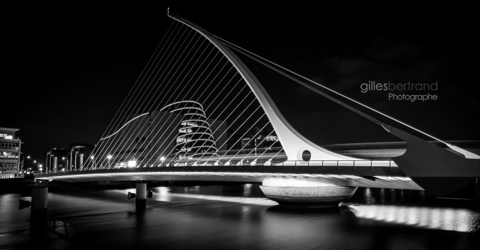 THE SAMUEL BECKETT BRIDGE DUBLIN