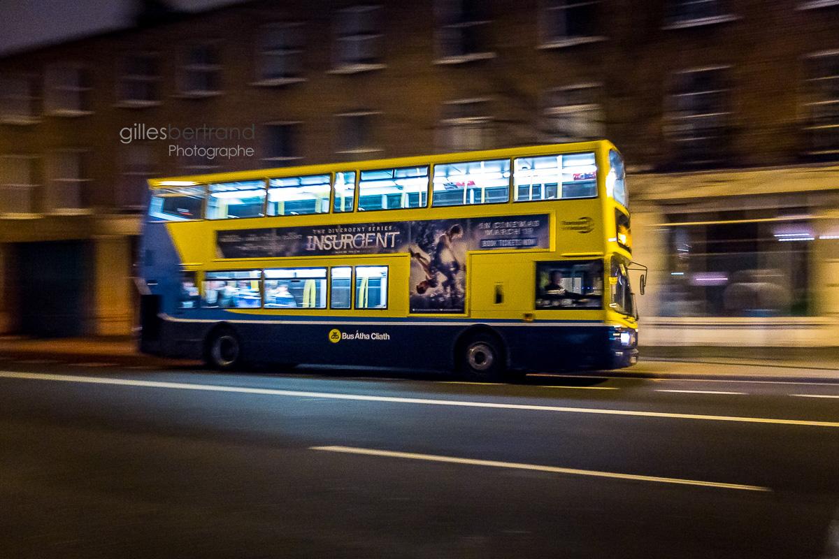 VITESSE BUS DEUX ETAGES DUBLIN