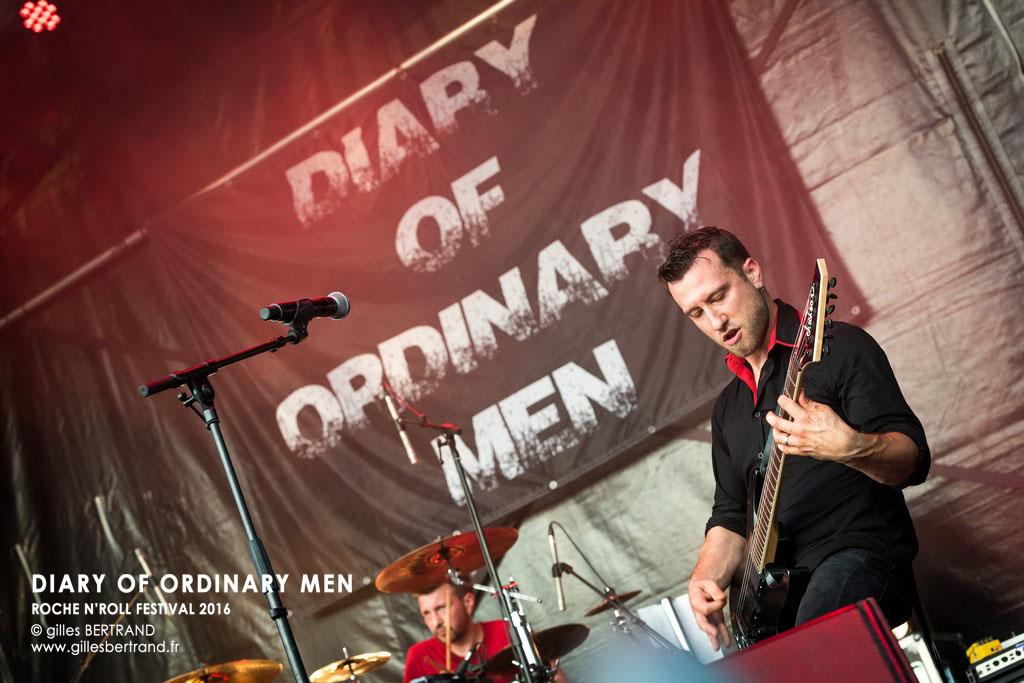 DIARY OF ORDINARY MEN - ROCHE N'ROLL FESTIVAL