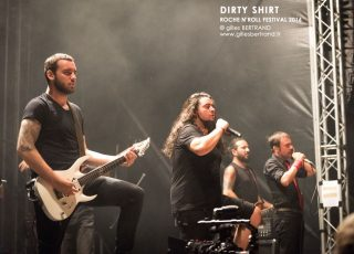 DIRTY SHIRT - ROCHE N'ROLL FESTIVAL