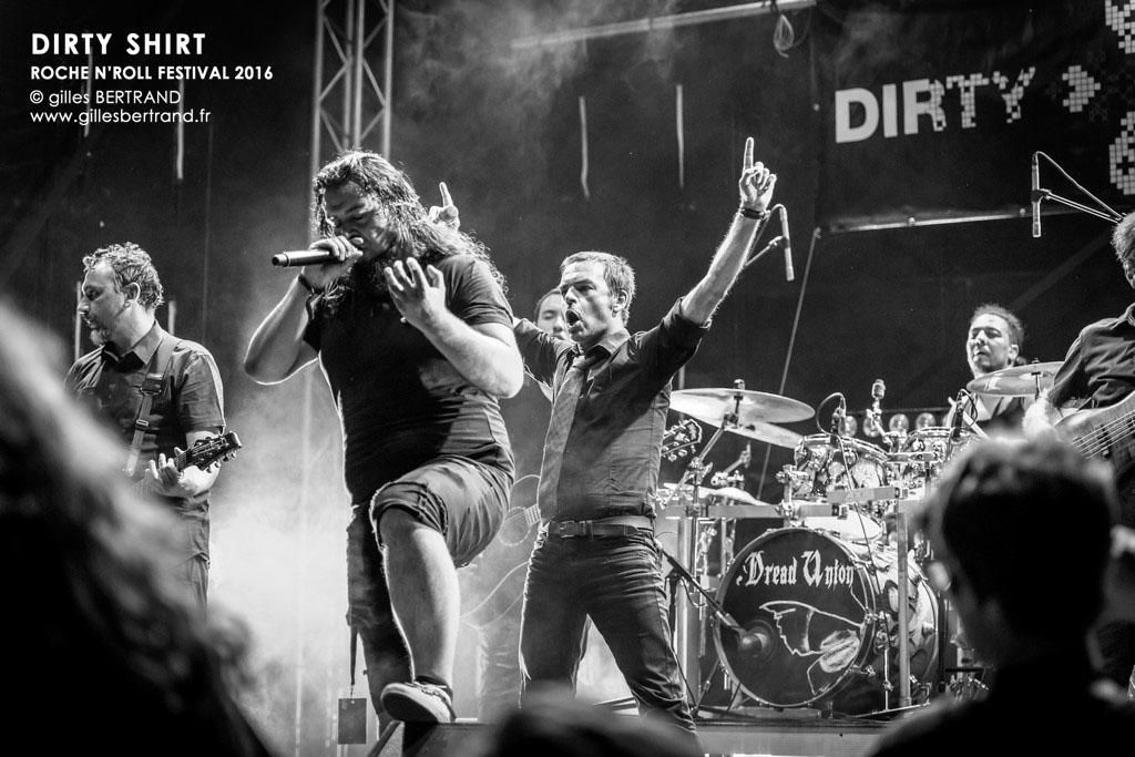 DIRTY SHIRT - ROCHE N'ROLL FESTIVAL