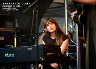 HANNAH LOU CLARK - MUSIQUES EN STOCK 2016