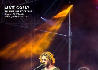 MATT CORBY - MUSIQUES EN STOCK 2016