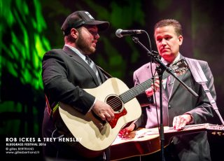 ROB ICKES & TREY HENSLEY - BLUEGRASS FESTIVAL 2016