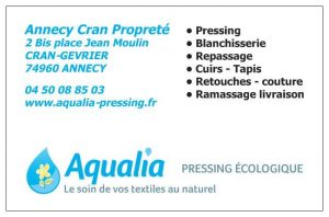 SERVICES AQUALIA PRESSING